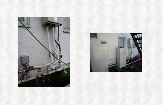 Wソーラーシステムの設置工事