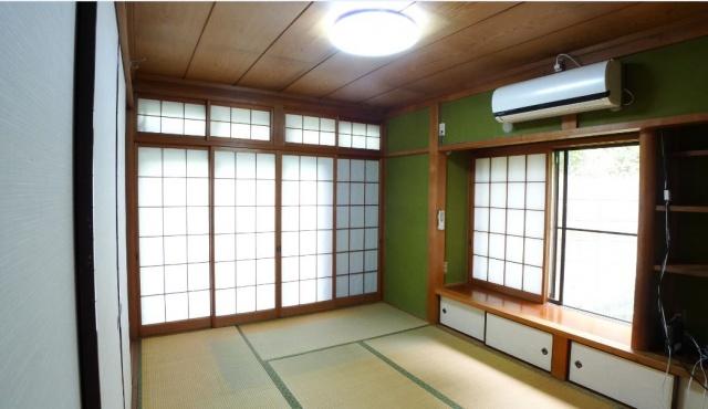 Before:もともとこの和室にお母様が暮らしていらっしゃいましたが、不自由なことが多くなりリフォームをすることに。