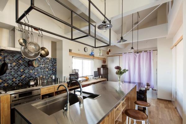 after:料理教室ができることを想定したキッチンスペース