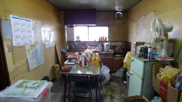 Befoer:ほとんど使われなくなったキッチン