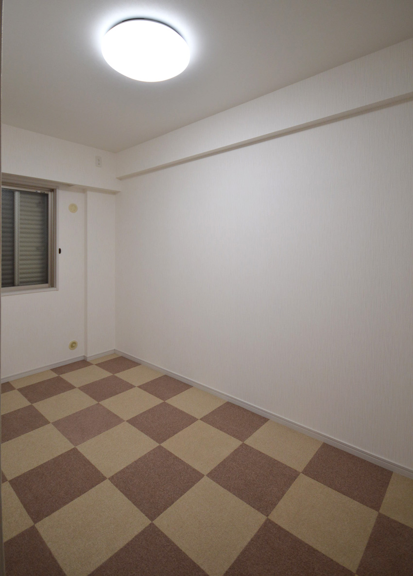 After:こちらは市松模様はご主人のお部屋です♪