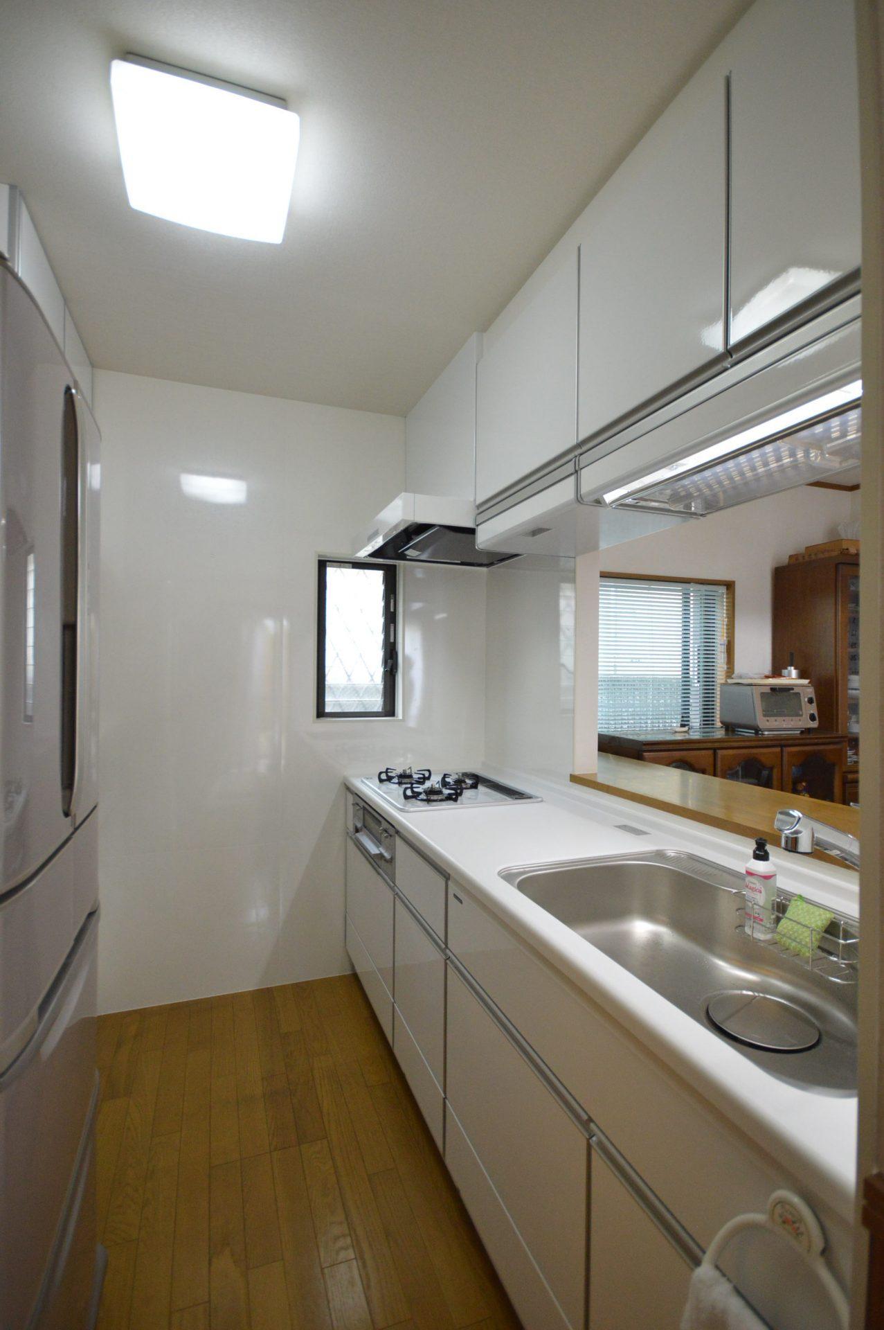 after:無駄なスペースがなくり広々したキッチンへ