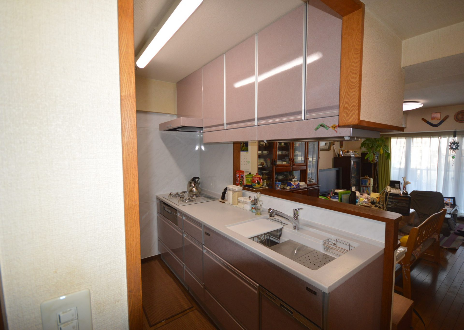 after : 奥様のお悩みを解決してくれた新しいキッチン。