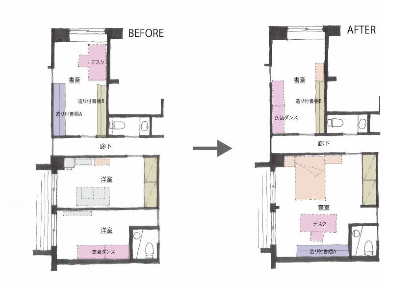 S邸平面図