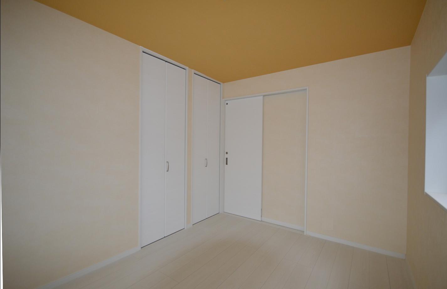 After:この部屋はK社長のお好みでクロス選び。