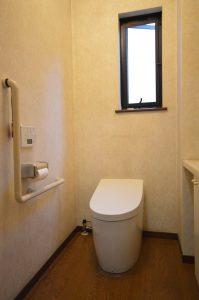 【施工後】温風ヒーター付トイレ