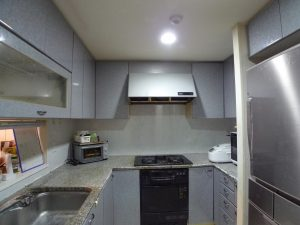 Beforeコの字型キッチン