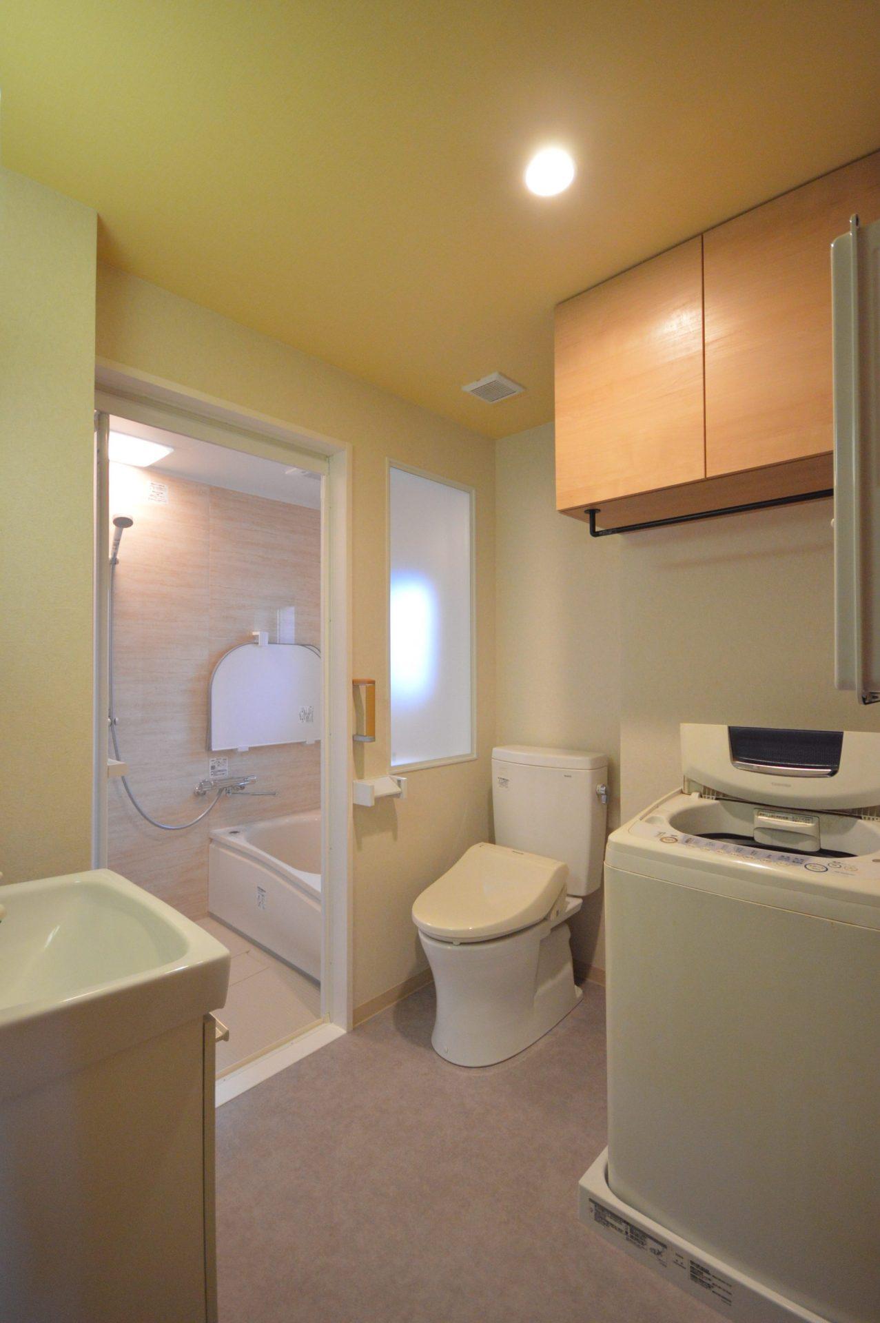 After:浴室、サニタリールーム