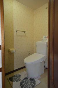 トイレは新しいけど…