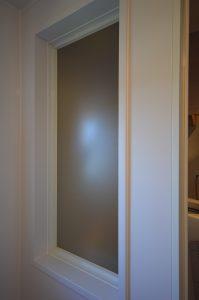 洗面、トイレ側への採光を可能にした採光ユニット